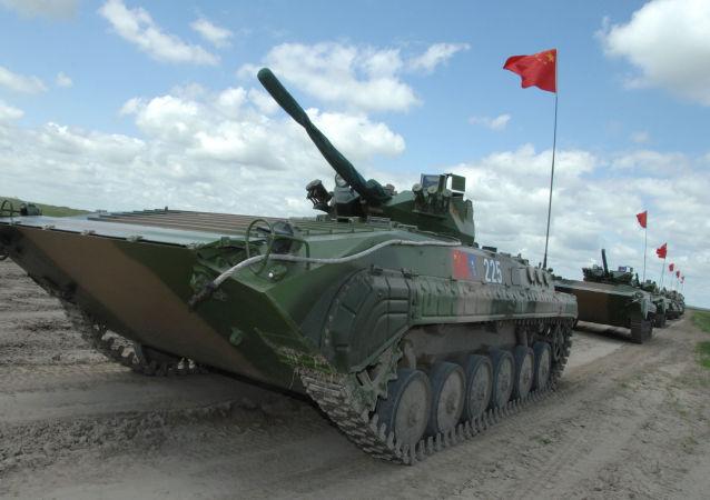 中國開始大規模軍事演習