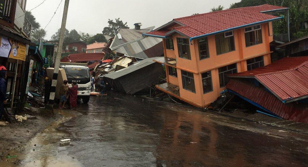 俄紧急情况部将为缅甸洪灾区运送人道主义救援物资