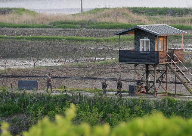 韩朝非军事区