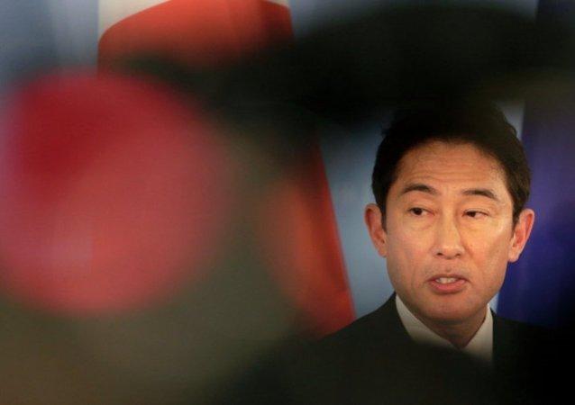 日本外相在三方峰会前与中韩两国外长举行了会晤