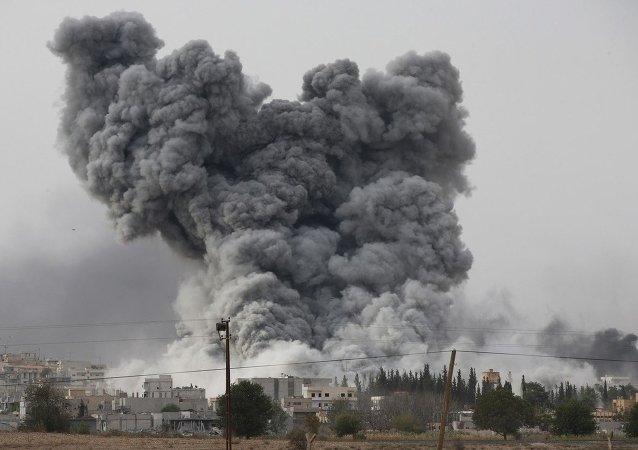 美國防部:美國在敘利亞對計劃在西方國家實施恐怖襲擊的恐怖分子進行打擊