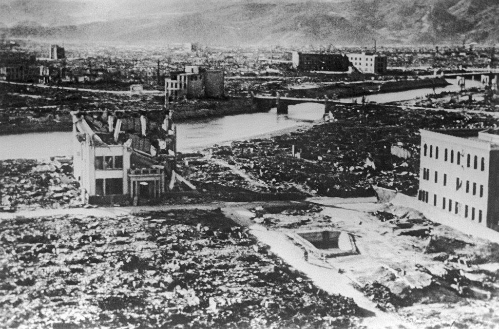 广岛原子弹爆炸1945年8月6日