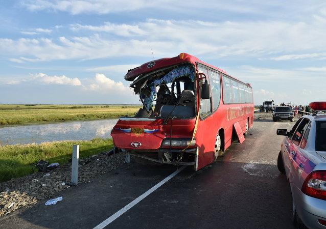 俄交通事故