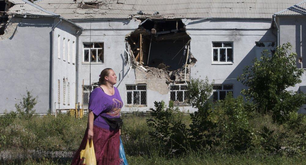 盧甘斯克人民共和國稱遭到烏軍迫擊炮攻擊