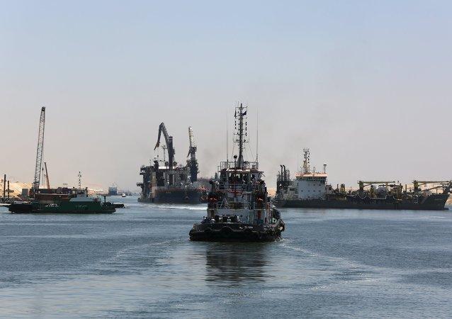 苏伊士运河新航道