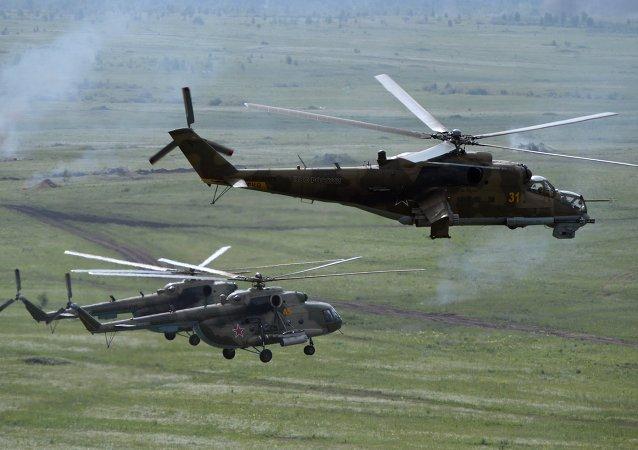 米-8 和 米-24