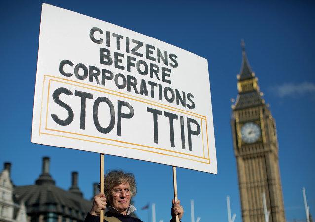 美國與歐盟簽署TTIP的可能性不大