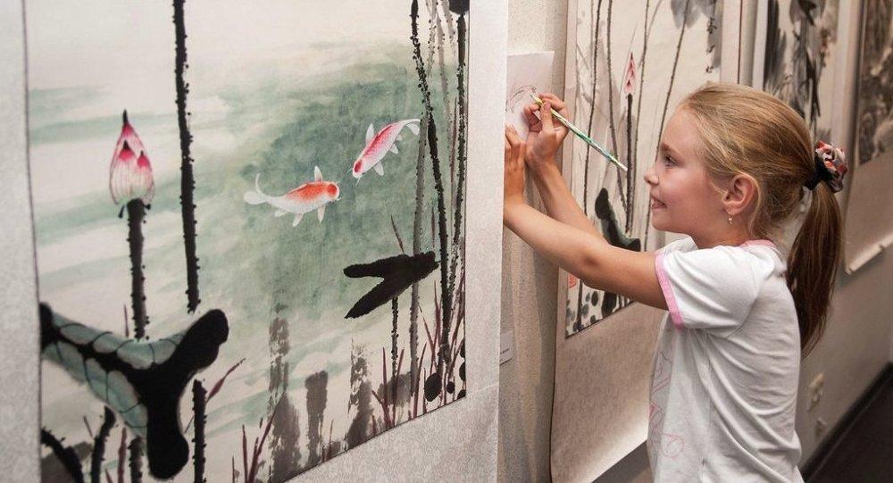 哈巴罗夫斯克将首次举行俄中书法绘画大师作品展
