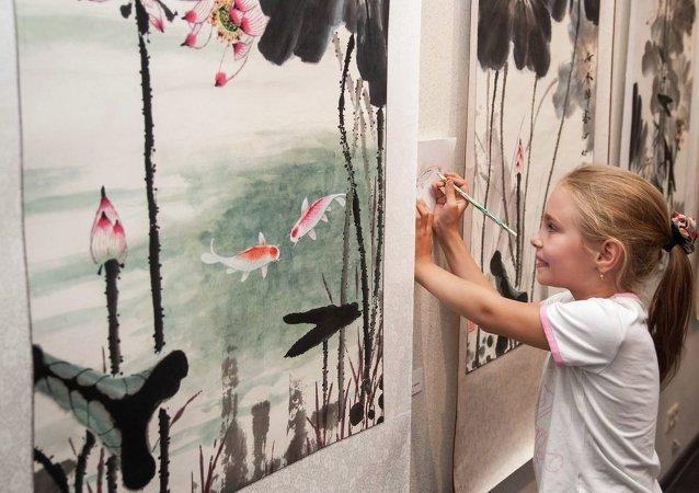 哈巴羅夫斯克將首次舉行俄中書法繪畫大師作品展