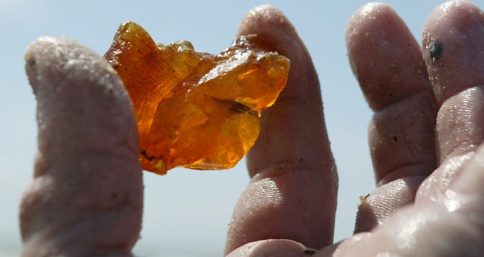 俄加里宁格勒琥珀联合企业已收到供华首批矿石的1300万美元付款