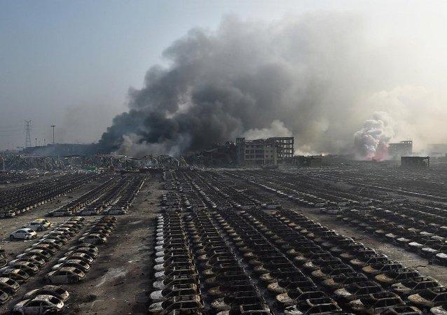中國約50人因天津倉庫爆炸案獲刑