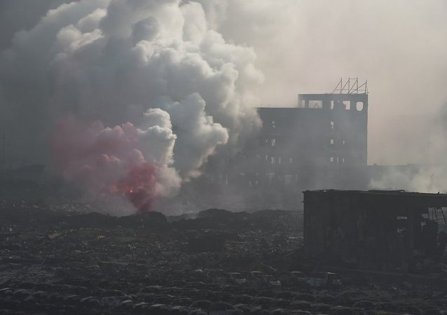 中国化工厂爆炸致9人失联