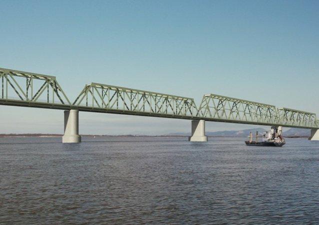 俄中跨阿穆尔河大桥金属结构将于4月运抵施工现场