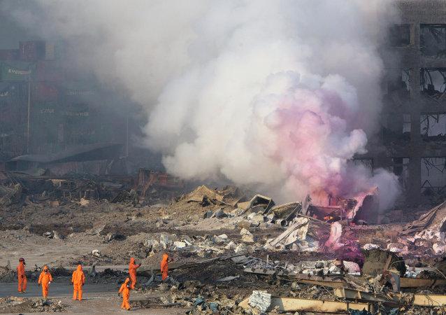 俄緊急情況部部長:天津劇烈爆炸後俄提出向中國提供人道主義援助