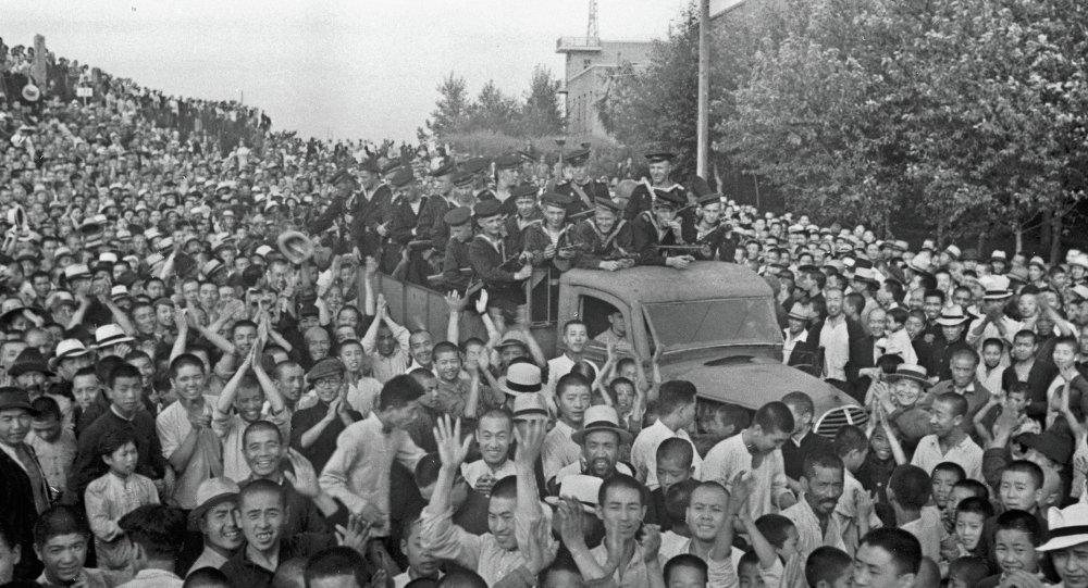哈尔冰, 1945年8月
