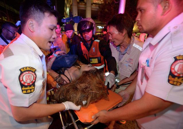 曼谷警方宣佈8月17日恐怖襲擊案結案