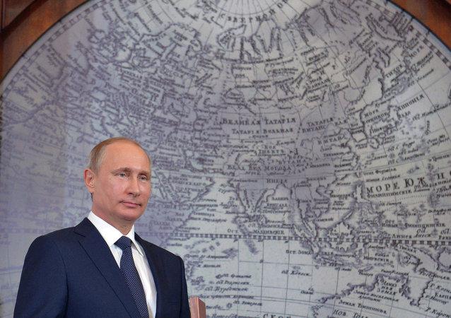普京赞赏俄地理学会与中国同行在国际项目上的合作