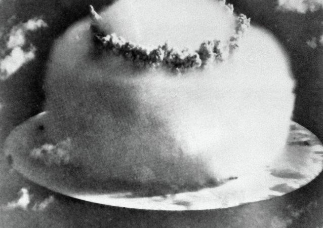 氫彈爆炸瞬間/資料圖片/