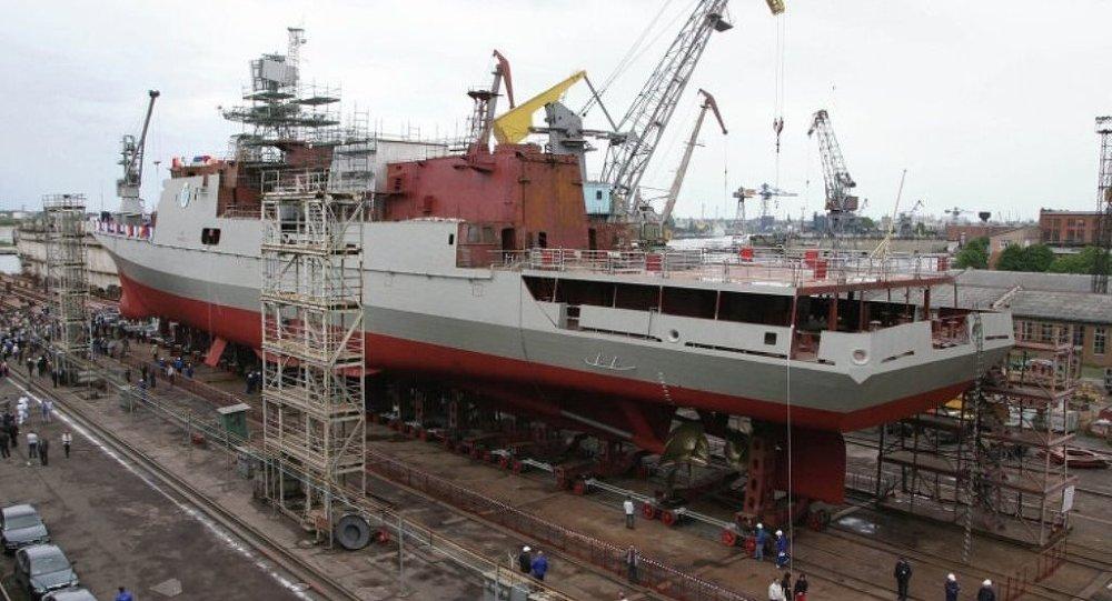 俄技术集团:俄印2017年将签署4艘11356型护卫舰供应合同