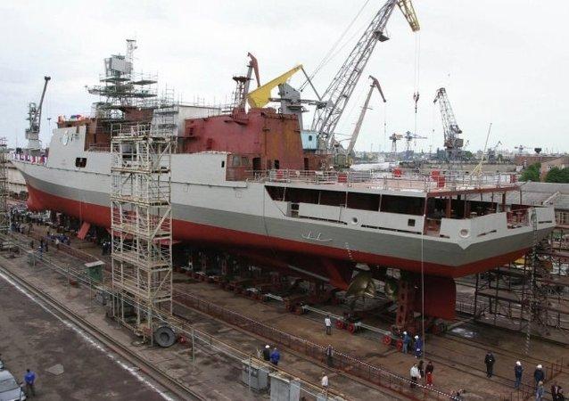 """""""马卡罗夫海军上将""""号护卫舰将在9月初下水"""