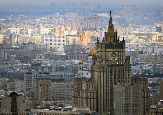 俄副外長與中國外長助理舉行會談