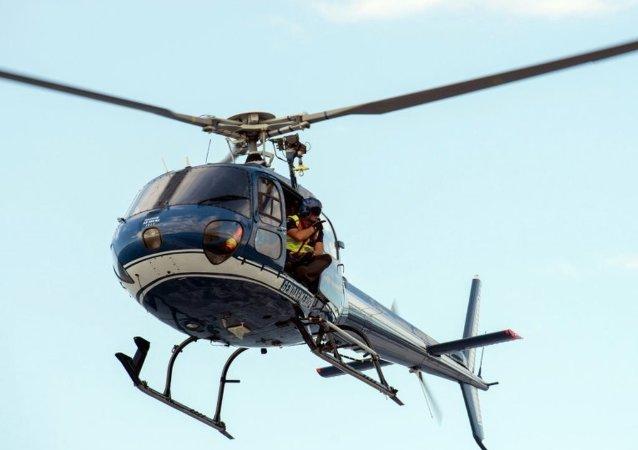 美國大峽谷附近一架遊覽直升機墜毀 三人遇難