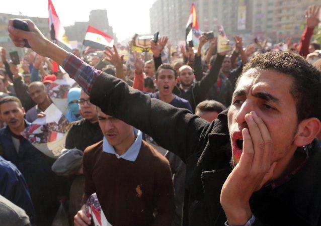 """埃及""""穆斯林兄弟会""""支持者"""