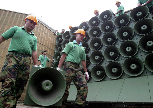 韩国停止非军事区对朝扩音器广播