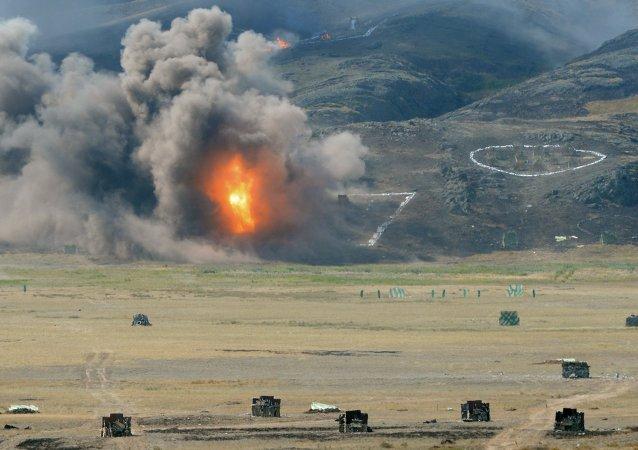 哈萨克斯坦举行首长参谋部战略演习