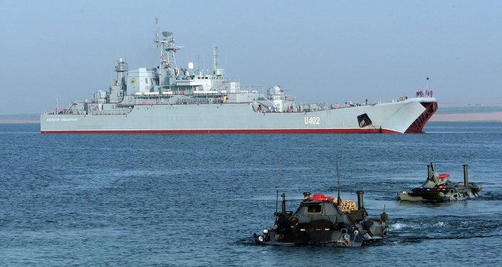 """美乌在黑海举行""""海风""""军演"""