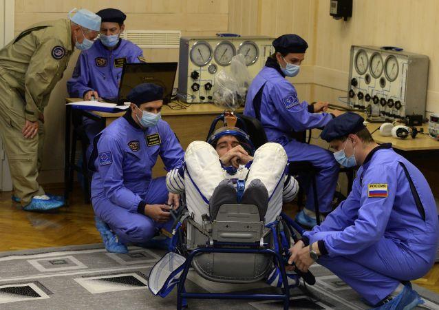 意大利宇航員盧卡·帕爾米塔諾將在俄加加林宇航員培訓中心進行培訓