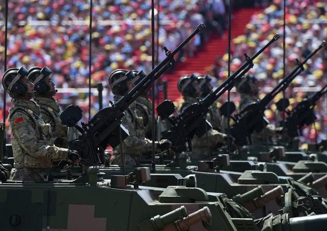 纪念抗战胜利70周年阅兵在北京天安门广场隆重举行
