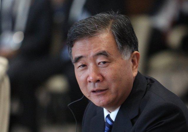 中国国务院副总理汪洋