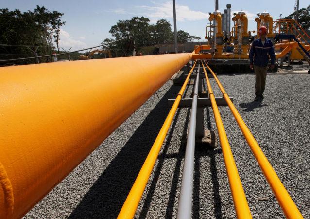 中俄东线天然气管道工程隧道管道胜利穿越两国边境线