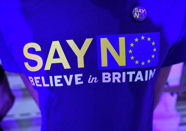 調查:大多數英國公民2014年首次贊成退出歐盟