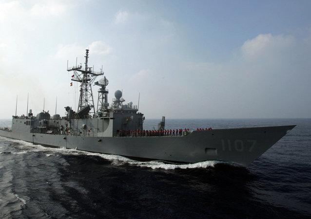 越南外交部抗議台灣在南沙群島海域軍演