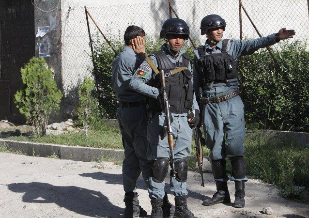 在赫爾曼德省的阿富汗內務部再次遭到襲擊