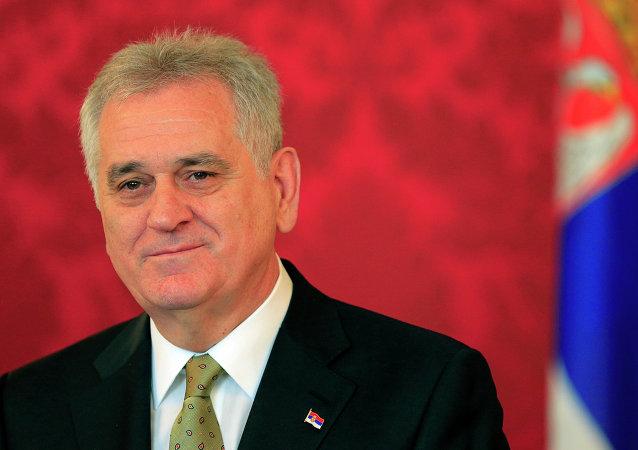 塞爾維亞總統托米斯拉夫•尼科利奇