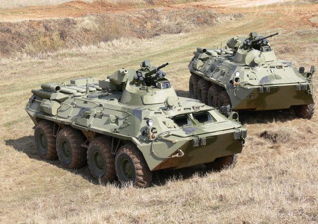 BTR-82和BTR-82A装甲运输车
