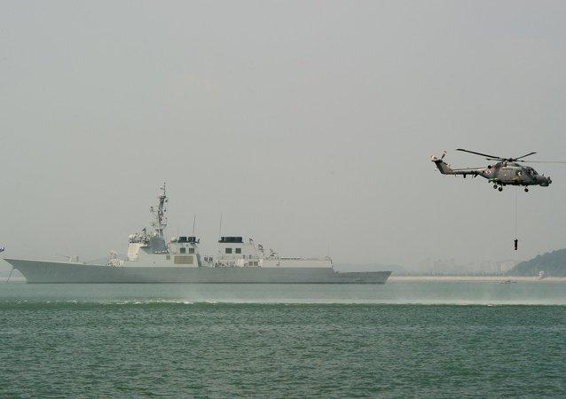 韓國軍人在朝鮮船隻越界後鳴槍示警