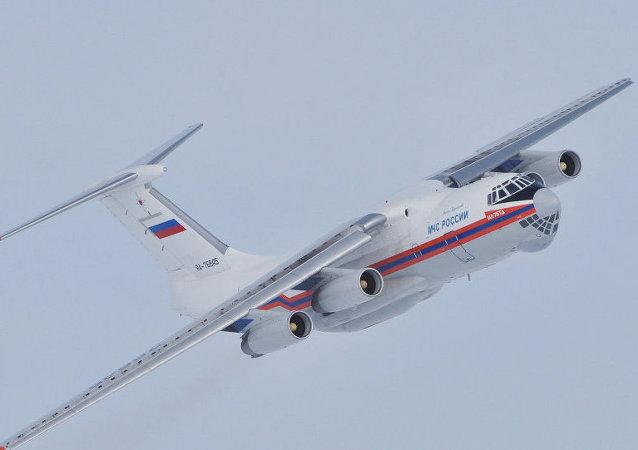 俄緊急情況部飛機