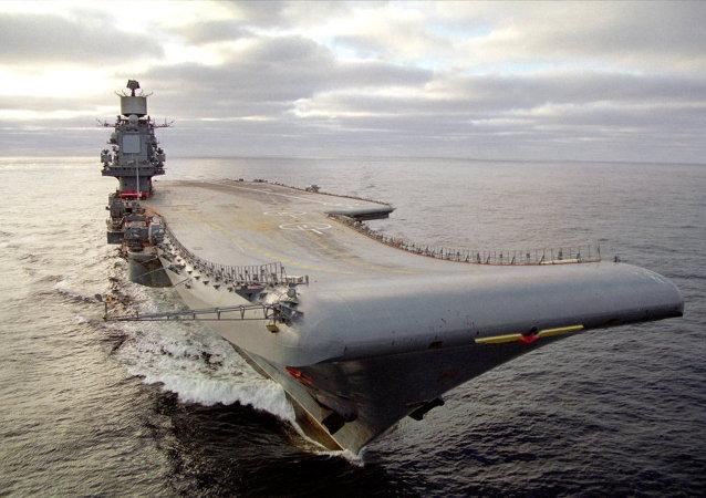 """""""库兹涅佐夫海军上将号""""航空母舰"""