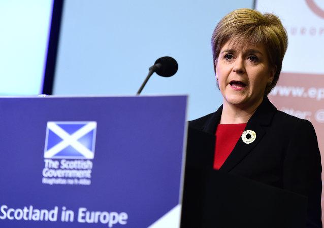 蘇格蘭首席部長、蘇格蘭民族黨領袖尼古拉·斯特金
