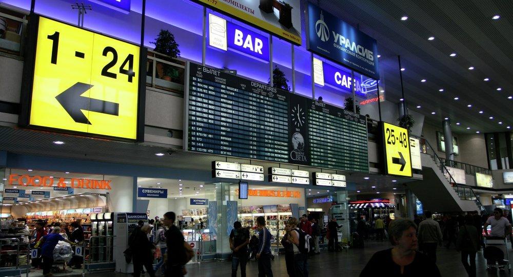 莫斯科三大機場因接到炸彈威脅電話進行檢查