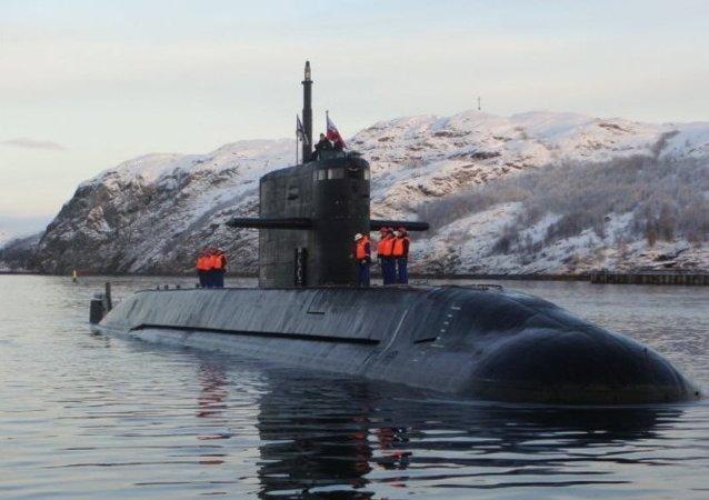 北方艦隊開始有核潛艇參加的指揮演習