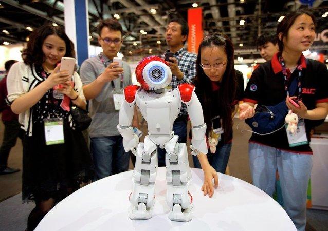 第一屆中國機器人運動大賽今日在常州隆重開幕
