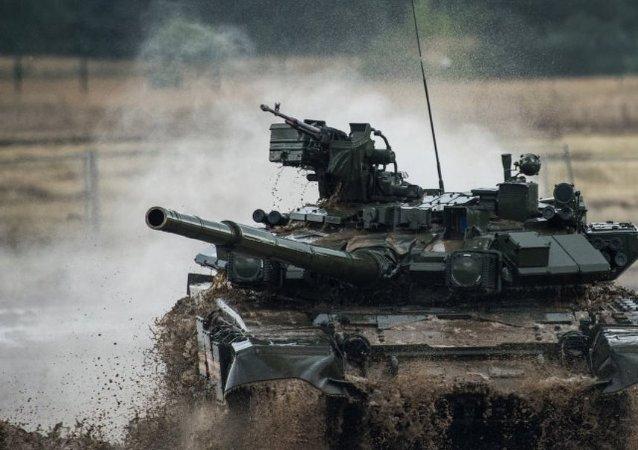 如在敘交鋒 T-90將完勝艾布拉姆斯