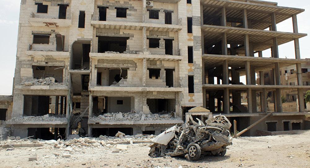 在叙利亚的战争
