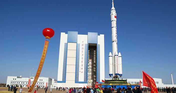 酒泉卫星发射中心(资料图片)