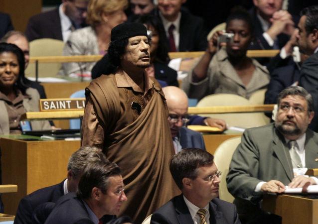 卡扎菲前顾问谈针对卡扎菲阴谋的组织者